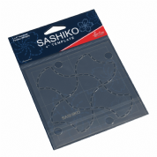 "Sashiko 4"" Template - Fondou (Weight) Design"